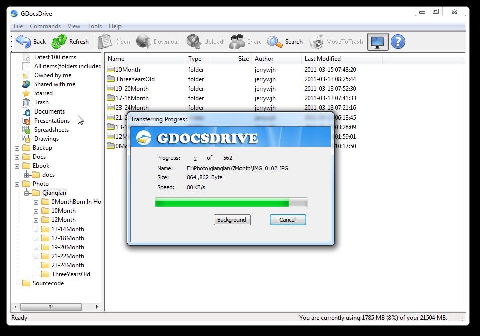 GDocsDrive